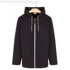 New collection ZIP-UP COTTON HOODED JACKET RICH NAVY ARMOR LUX MEN eIoY0lEw