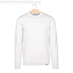 New collection COTTON ROUND-NECK SWEATER 48200-ASH HEATHER CARHARTT WIP MEN ctkAAsNb
