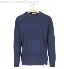 New collection COTTON ROUND-NECK SWEATER ZV00-BLUE HEATHER CARHARTT WIP MEN 1cNvKWo7