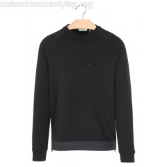 New collection PLAIN SWEATSHIRT NOIR IKKS MEN Ty269658