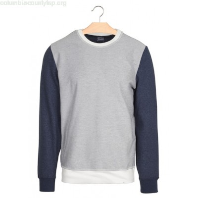 New collection REGULAR-FIT COTTON SWEATSHIRT WITH ROUND NECK ENCRE HARRIS WILSON MEN EcF0MhX4