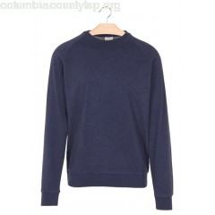New collection REGULAR-FIT ORGANIC COTTON SWEATSHIRT WITH ROUND NECK TOTAL ECLIPSE KNOWLEDGE COTTON APPAREL MEN fVbhT8KN