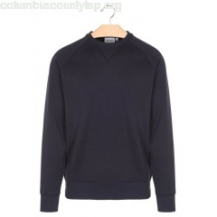 New collection ROUND-NECK COTTON-BLEND SWEATSHIRT 1C90-DARK NAVY / GOLD CARHARTT WIP MEN SwTxwY1F