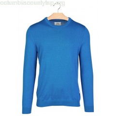 New collection ROUND-NECK COTTON SWEATER OCEAN HARRIS WILSON MEN 0x36MASw