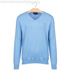 New collection SLIM-FIT PIMA COTTON V-NECK SWEATER NANTUCKET BLUE HEATHER POLO RALPH LAUREN MEN VIuP7zgM
