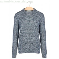 New collection STRANDED-KNIT ROUND-NECK SWEATER ENCRE HARRIS WILSON MEN niIbUERr