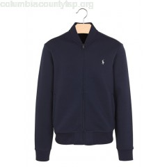 New collection ZIPPERED COTTON-BLEND SWEATSHIRT AVIATOR NAVY POLO RALPH LAUREN MEN NrRyhfnQ