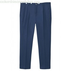 New collection PLEATED COTTON CHINOS NAVY MANGO MEN yHNEyXrz