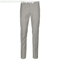 New collection PLEATED WOOL AND COTTON PRINCE OF WALES PANTS BEIGE SANDRO MEN waviHxKU
