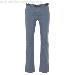 New collection SLIM-FIT COTTON CHINOS WITH BELT STEEL SCOTCH AND SODA MEN np52Bxvt