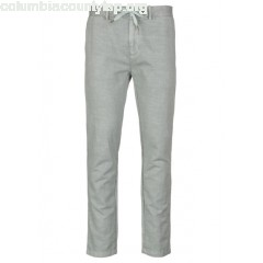 New collection STRAIGHT LINEN AND COTTON PANTS SEAFOAM GREEN SCOTCH AND SODA MEN MJHQ5GHP