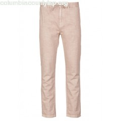 New collection STRAIGHT LINEN AND COTTON PANTS VULCANO DUST SCOTCH AND SODA MEN 9D3c3yF8