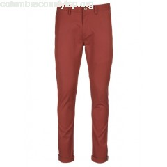New collection STRETCH COTTON SKINNY CHINOS RED BEN SHERMAN MEN pCa4KDJO