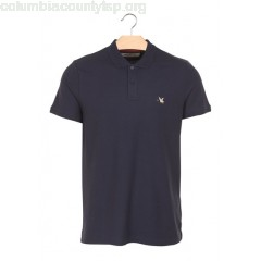 New collection PIMA COTTON PIQUÉ POLO SHIRT NAVY CHEVIGNON MEN aJZPcMB7