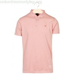 New collection REGULAR-FIT COTTON POLO SHIRT BEACH PINK SCOTCH AND SODA MEN c9AUnApS