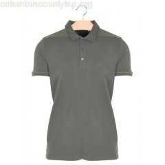 New collection REGULAR-FIT COTTON POLO SHIRT KAKI IKKS MEN w1q1Wpd6