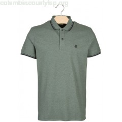 New collection REGULAR-FIT COTTON POLO SHIRT LAUREL WREATH SELECTED MEN ljnnp3tr
