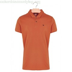 New collection REGULAR-FIT COTTON POLO SHIRT TERRACOTTA SCOTCH AND SODA MEN YqwSZEgg