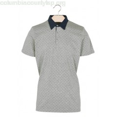 New collection REGULAR-FIT COTTON POLO SHIRT WITH SCREEN PRINT GRIS CHINE BEST MOUNTAIN MEN cCq5iq3G