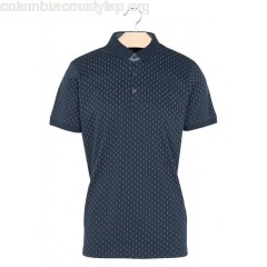 New collection REGULAR-FIT COTTON POLO SHIRT WITH SCREEN PRINT NAVY BEST MOUNTAIN MEN KEJY2jcA