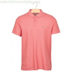 New collection REGULAR-FIT SHORT-SLEEVED COTTON POLO SHIRT ROSE PARROT CHINE CHEVIGNON MEN ab6doNJS