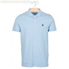 New collection REGULAR-FIT STRETCH COTTON POLO SHIRT SKYWAY SELECTED MEN tWoCwATZ