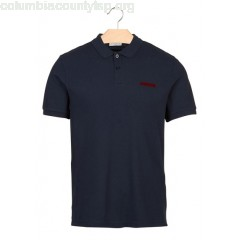 New collection SHORT-SLEEVED COTTON PIQUÉ REGULAR-FIT POLO SHIRT MARINE SANDRO MEN yNFKwvTn