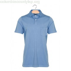 New collection SHORT-SLEEVED COTTON POLO SHIRT 05-DENIM HARTFORD MEN n8L7d11M