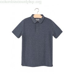 New collection SHORT-SLEEVED SLIM-FIT POLO SHIRT GRIS FONCE MANGO MEN 9k3S4Th4