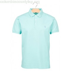 New collection SLIM-FIT COTTON PIQUÉ POLO SHIRT BAYSIDE GREEN POLO RALPH LAUREN MEN RFhrkVTW