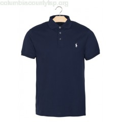 New collection SLIM-FIT COTTON PIQUÉ POLO SHIRT FRENCH NAVY POLO RALPH LAUREN MEN VEFN3pU3