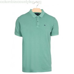 New collection SLIM-FIT COTTON PIQUÉ POLO SHIRT JADE SCOTCH AND SODA MEN qmhXyK4Y