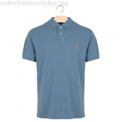 New collection SLIM-FIT COTTON POLO SHIRT MARINE HEATHER POLO RALPH LAUREN MEN MvwU9z8a