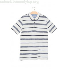 New collection STRIPED COTTON PIQUÉ POLO SHIRT OFFWHITE MANGO MEN zZ4qHu4o