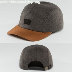 5 Panel Caps Dunes in grey ZpYZDN46