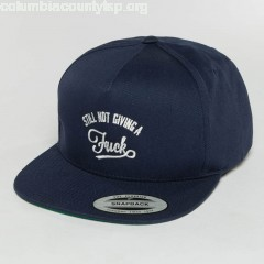 5 Panel Caps SNGAF in blue Eby9hqSj