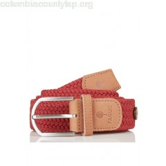 New collection BRAIDED CANVAS BELT CARMINE FAGUO MEN IzrOaEDd