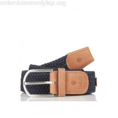 New collection BRAIDED CANVAS BELT NAVY FAGUO MEN KqjoqdHp