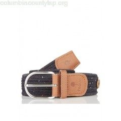 New collection BRAIDED WOOL BELT NAVY/RED/WHITE FAGUO MEN ggFLzr5s