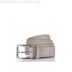 New collection GRAINED NUBUCK BELT TAUPE HACKETT MEN oIHl0Ns2