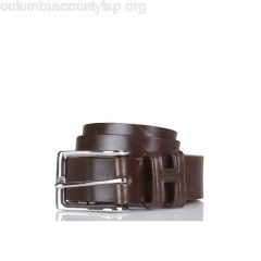 New collection LEATHER BELT BROWN HACKETT MEN iBACMXL6