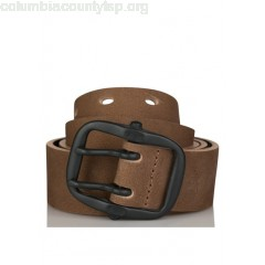 New collection SUEDE BELT JAUNE VIF IKKS MEN a11kmTVP