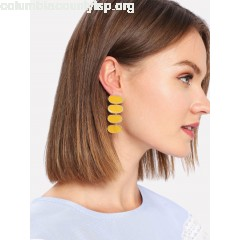 Contrast Drop Earrings NkMV0cFw
