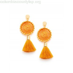 Knit Detail Tassel Drop Earrings z9x3SiDd