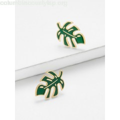 Leaf Design Stud Earrings ocxg5Gln