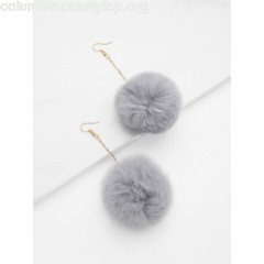Pom Pom Drop Earrings wthHr3fS