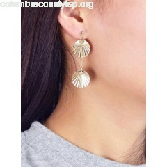 Round Metal Earrings 7gCVY52E