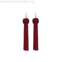 Statement Tassel Long Drop Earrings CMPZ0NcU