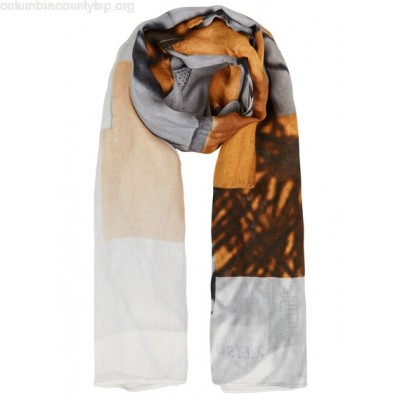 New collection GRAPHIC-PRINT SCARF PAILLE IKKS MEN PCNjh73Y