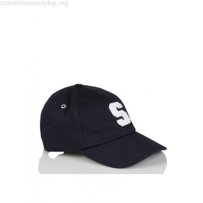 New collection ADJUSTABLE COTTON CAP WITH PATCH MARINE SANDRO MEN dujjFEIV